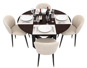 3D model Dining Set dining