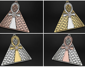 necklace Ankh - crux ansata 3d print model