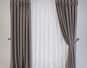 3D Curtain 15 roman