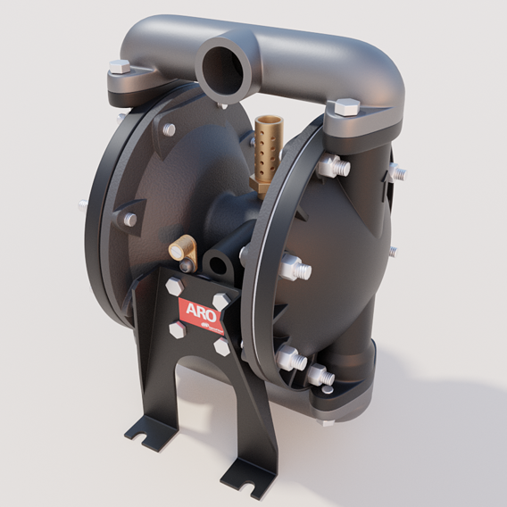 Petroleum pump | Industrial design