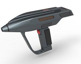 3D model Romulan Phaser pistol from Star Trek The Next 1