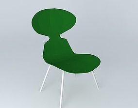 Green Ant chair Flag 3D