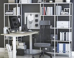 Office workplace 39 3D model