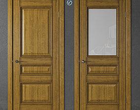 Wooden doors of Academy Piemonte part 3 3D
