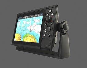 Marine GPS system - Simrad type 3D model