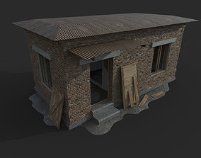 Abandoned Military Checkpoint 3D asset