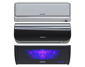 3D asset game-ready SAMSUNG AIR CONDITIONING