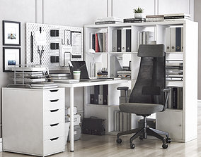 3D model Office workplace 38