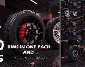 sport modern car wheels 3D model
