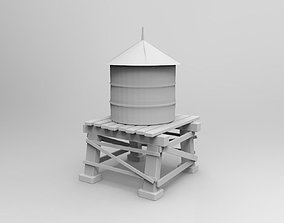 3D Printable Water Tower