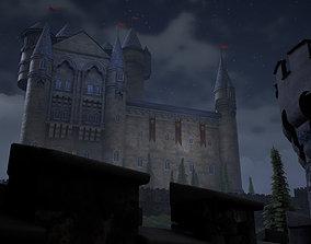 3D asset Sighiskor Village - Castle Modular Props