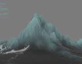 winter 3D model VR / AR ready iceberg