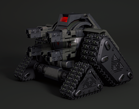 Sci-Fi Tank 3D science-fiction