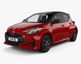 Toyota Yaris hybrid 2020 3D