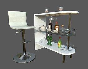 Mini Bar Home Bar Bar 3D asset