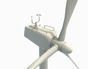 3D asset Wind turbine