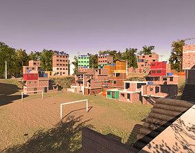 Favela Environment - Slums 3D model