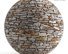 3D Seamless texture of natural stone v3
