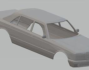 Mercedes Benz W126 Printable Body Car
