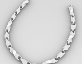 Segments for necklace and bracelet 3D printable model