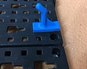 Small hook for powerfix tool wall 3D printable model