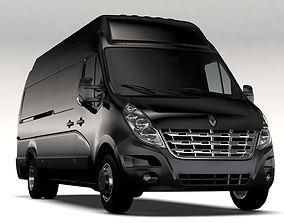 Renault Master L4H3 Van 2010 3D