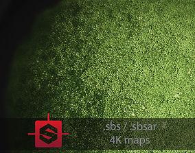 3D model Moss PBR Tileable Material nature