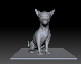 Sculpture of Chihuahua 3D printable model