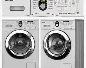 washing machine Samsung WF8592FFS 3D