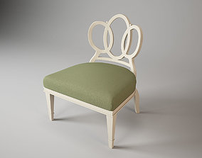 Barbara Barry Bracelet chair 3D model