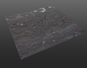 Post Apocalyptic Roads - 4 different variations 3D model