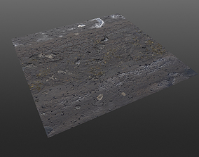 3D Post Apocalyptic Roads - 4 different variations