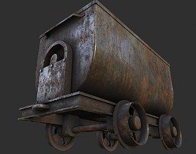 3D asset Mining Cart