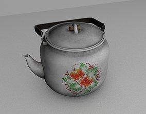 3D model USSR teapot