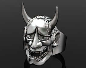 oni mask hannya 3D printable model
