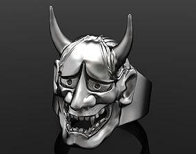 oni mask hannya 3D printable model