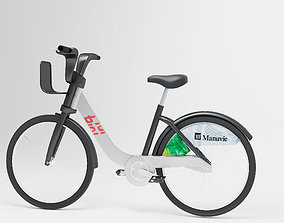 BIXI bicycle 3D