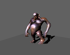 Orc Animated 3D model