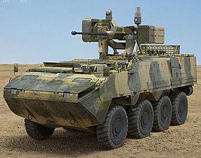 3D model Pandur II 8X8 APC