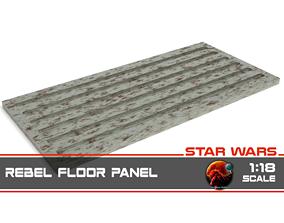 Star Wars Rebel Floor Panel 1-18 scale 3D printable model