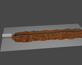 Unrolled joint 3D asset