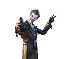 3D Joker scary