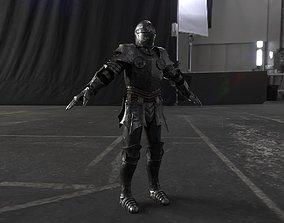3D asset Medieval Armor
