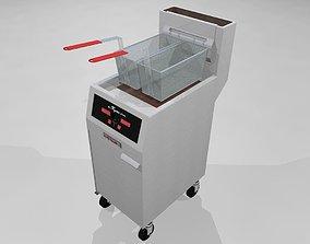 Deep Fryer - Restaurant Style 3D model