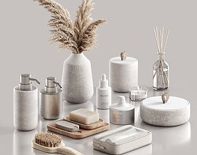 3D Decorative set for the bathroom cosmetic