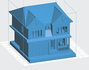 3D printable model Two Level House
