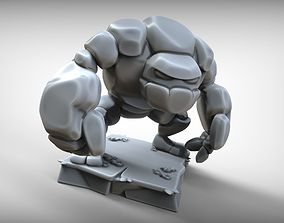 Golem Clash of Clans 3D printable model