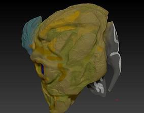 Helm heard 3D model