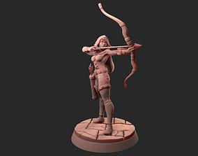 female 3D print model Female Ranger 30mm