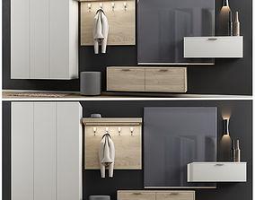 armadi 3D model Modern wardrobe